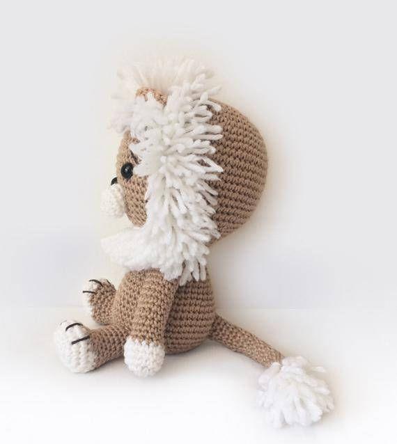 Amigurumi Crochet Lion Pattern - Lav the Lion - Softie - Plush ...