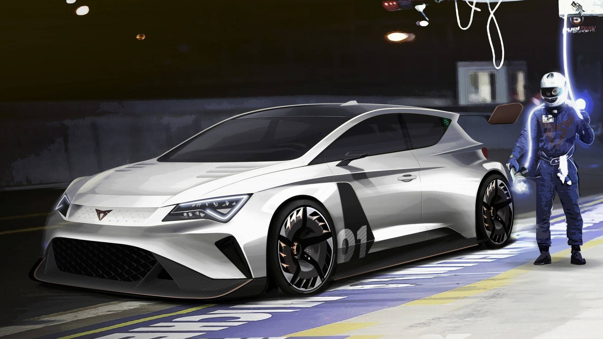 Cupra E Racer Motor1 Com Photos In 2020 Car In The World Car Seat Cupra
