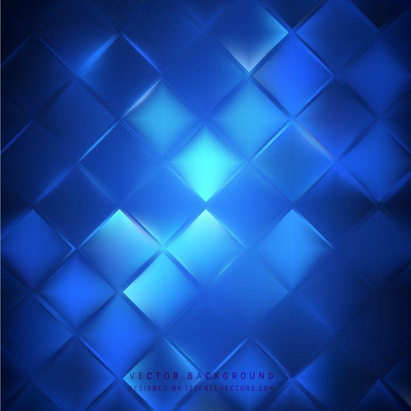 Navy Blue Square Background Pattern
