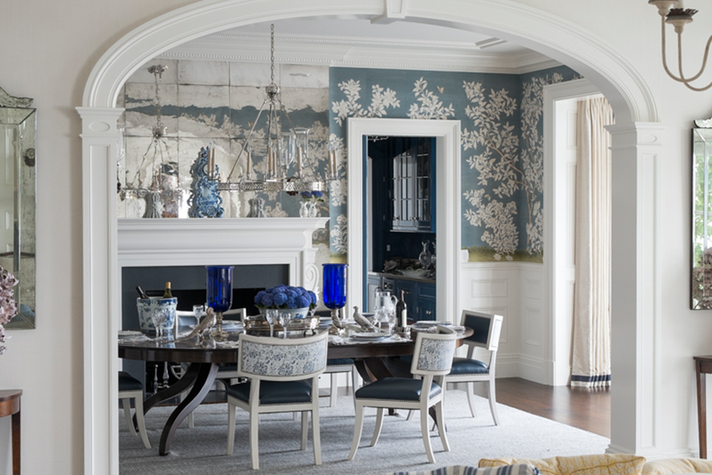 Exceptionnel Classic And Pretty Blue And White Rooms By A Connecticut Designer
