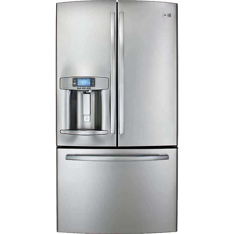 Ge Profile Series Pfe29psdss 28 6 Cu Ft French Door Bottom Freezer Refrigerator Stainless Steel Ge Kitchen Appliances Refrigerator French Door Refrigerator