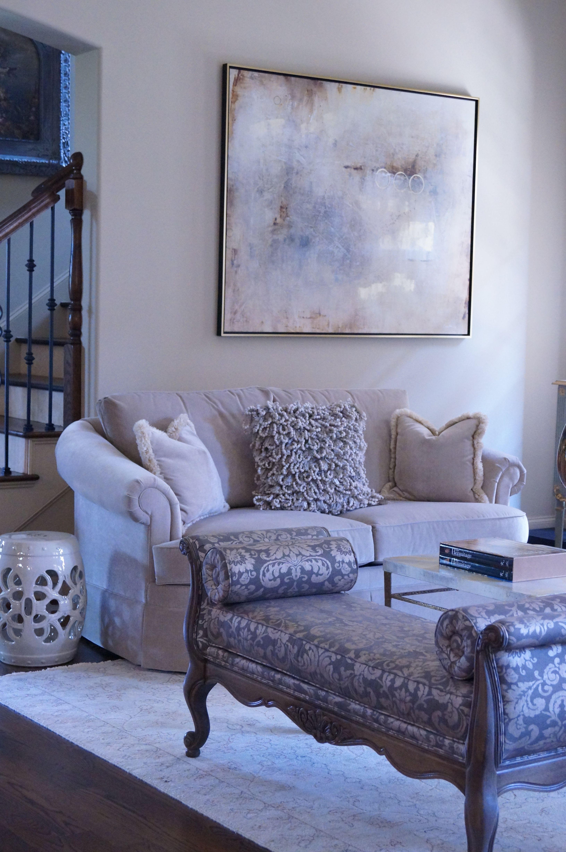 Its all about the texturesh sofa art ethan allen