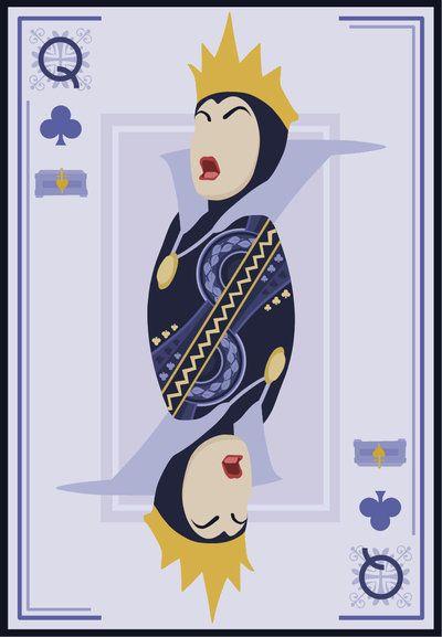 Queen of Clubs / Evil Queen