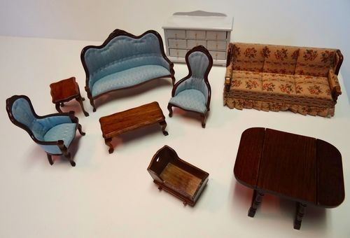compatible furniture. Compatible Furniture. Vintage Doll House Furniture Set Lot With Calico Critters Maple Town