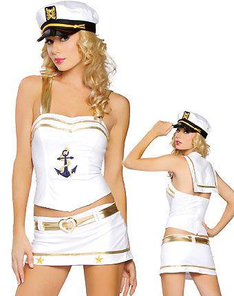 00bb90f82a596 Love Boat Captain Women Costume  10.65