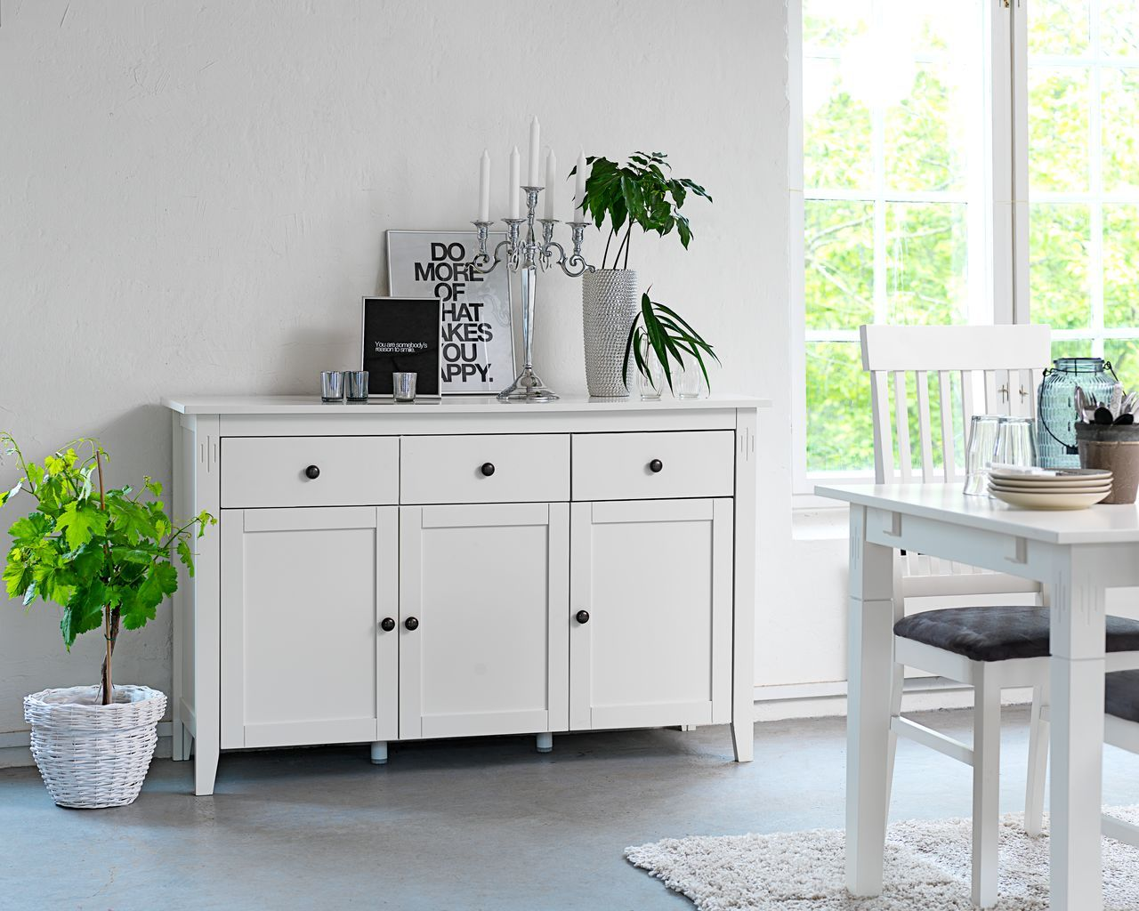 Classic White Sideboard From Jysk Home White Sideboard