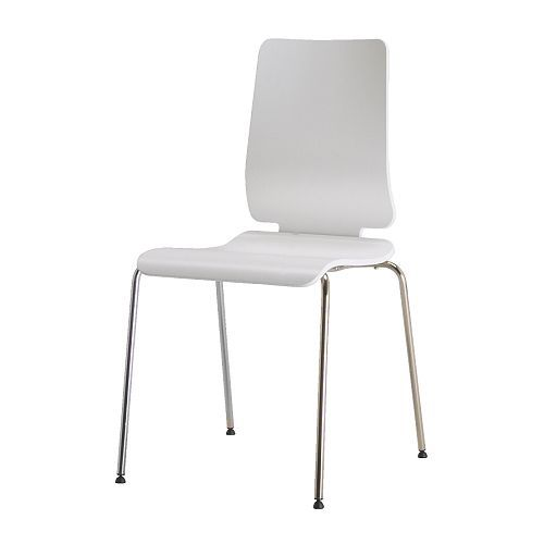 I love these Gilbert chairs from IKEA. Much better on my budget ...