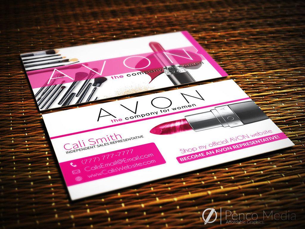 Custom Avon Business Card Design #1 #avon #businesscards #marketing ...
