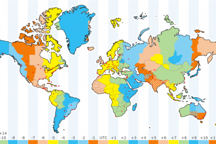 1000+ ideas about Time Zone Map on Pinterest | Time zones, Time ...
