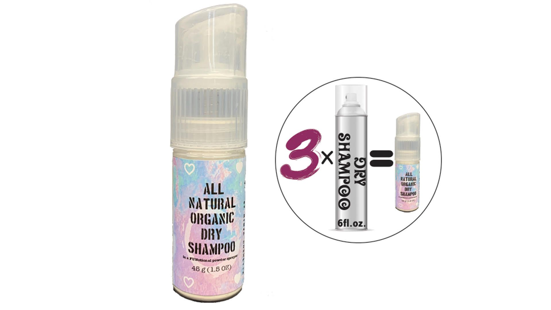 Ninja Cosmetix Awake All Natural Organic Dry Shampoo Shopkula Organic Dry Shampoo Dry Shampoo Shampoo