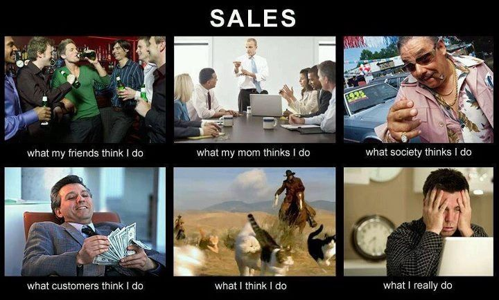 Great this is what salesman really are
