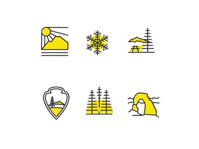 Utah Statistic Icons