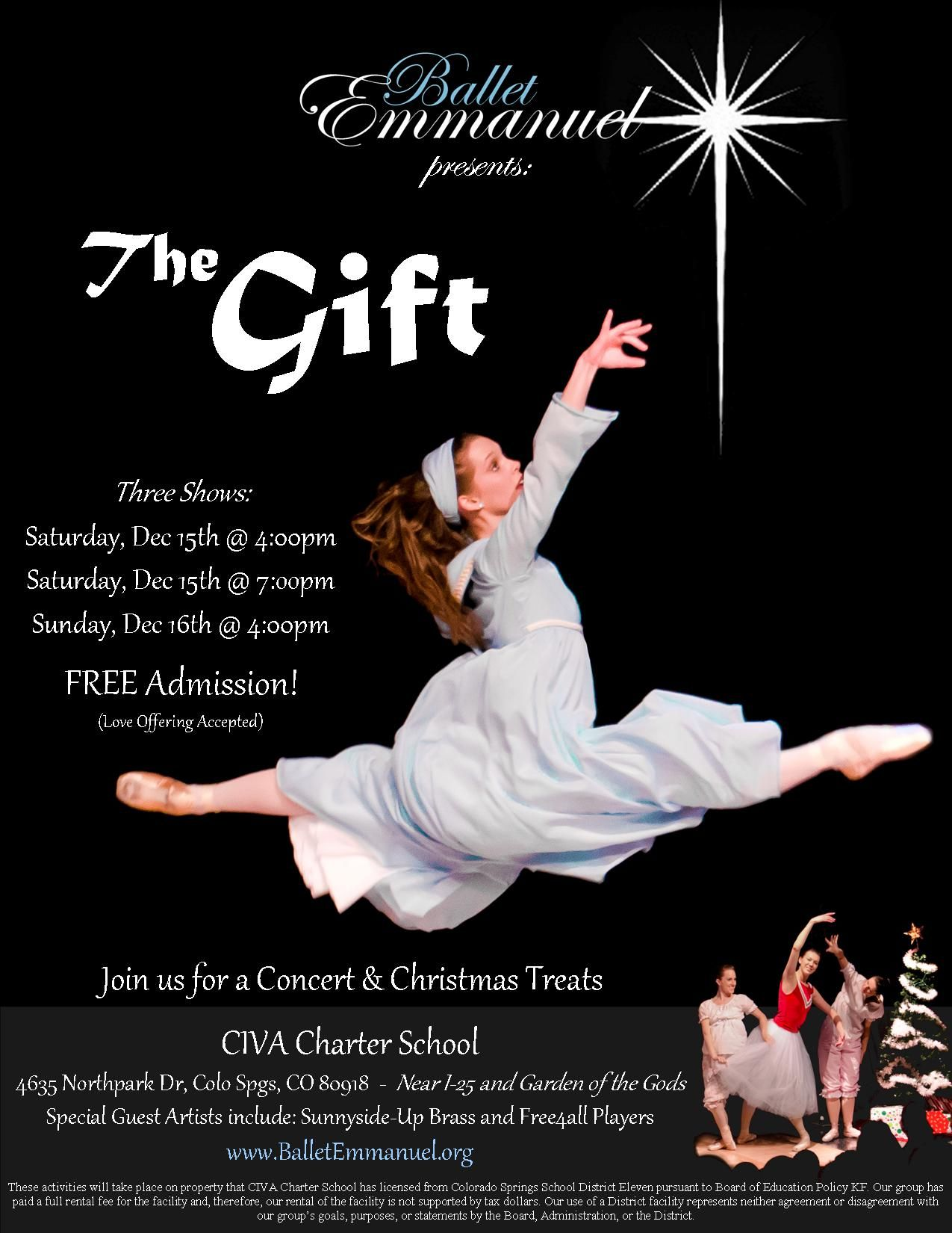#thegift #gifts #christmas #christ #jesus #celebrate #ballet #dance #performance #jazz # ...