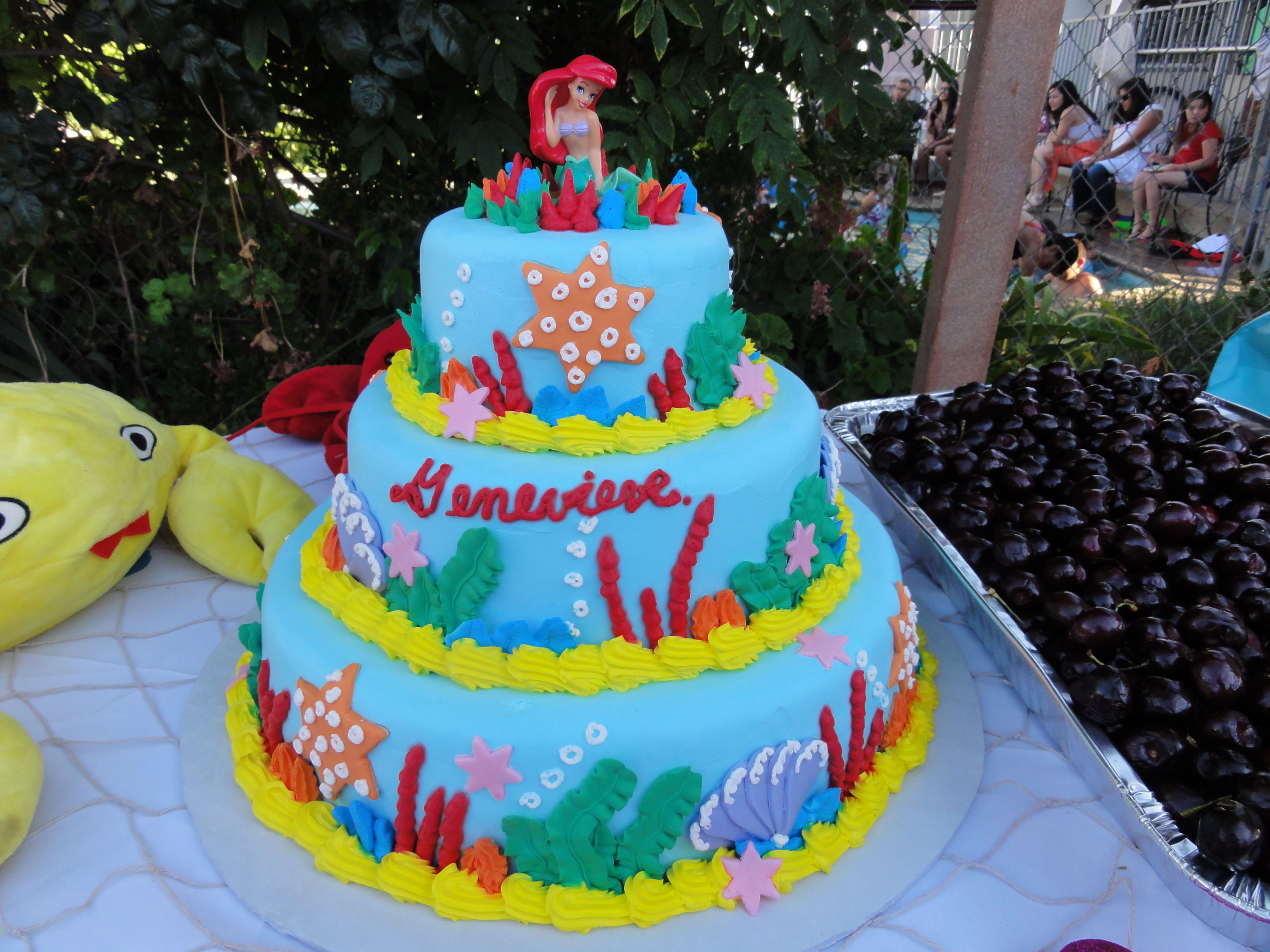 Ariel Cake Decorations 17 Best Images About Little Mermaid Cakes On Pinterest Cake