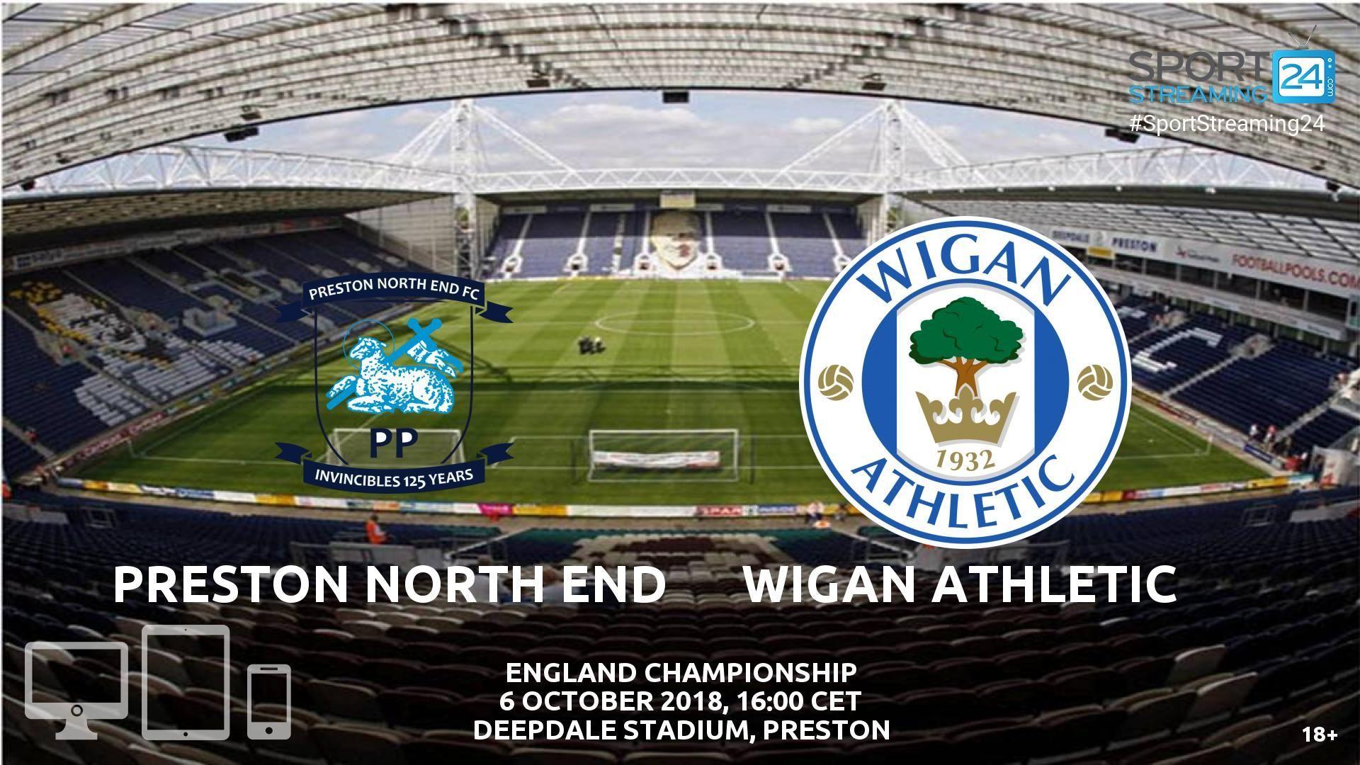 Preston V Wigan Live Streaming Football With Images Wigan Wigan Athletic Preston