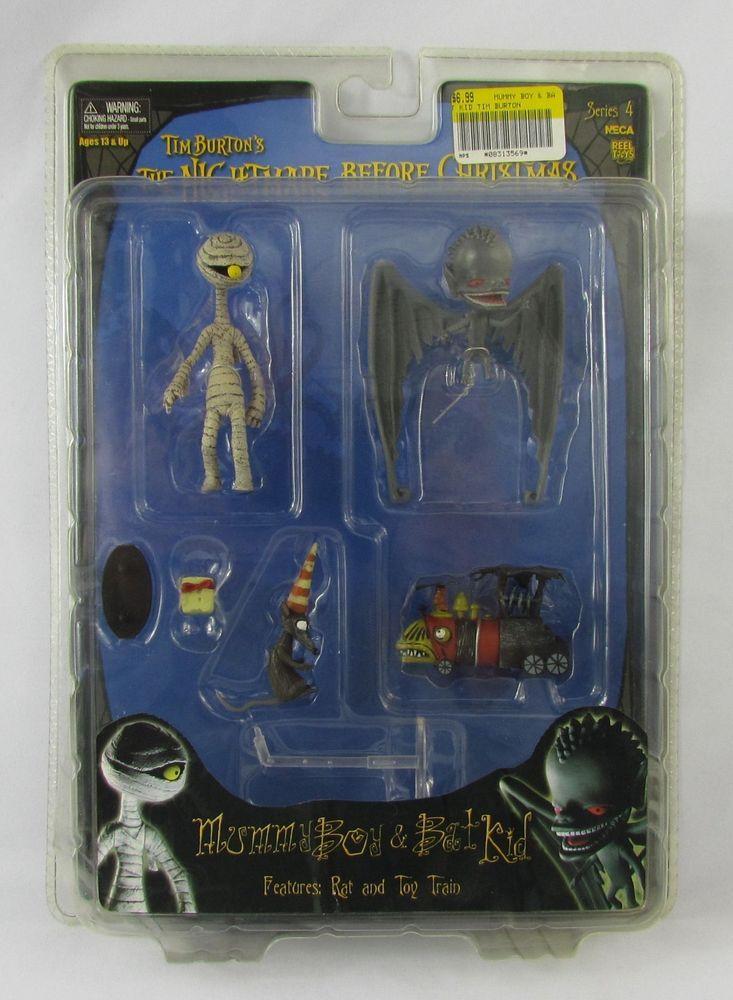 neca the nightmare before christmas series 4 mummy boy bat kid new sealed neca