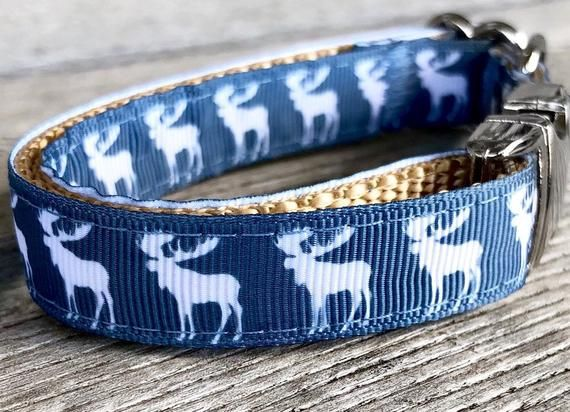 Blue Moose 5 8 Wide Dog Collar Harness Or Leash Animal Print