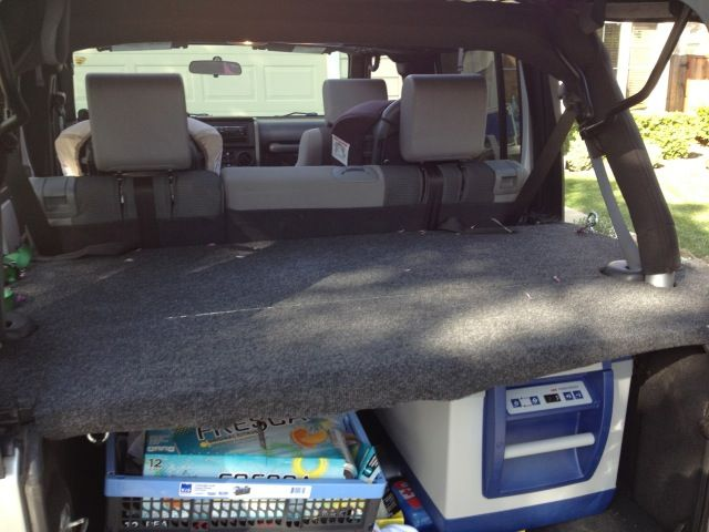 Diy Locking Hinged Cargo Cover For Jeep Jeeps