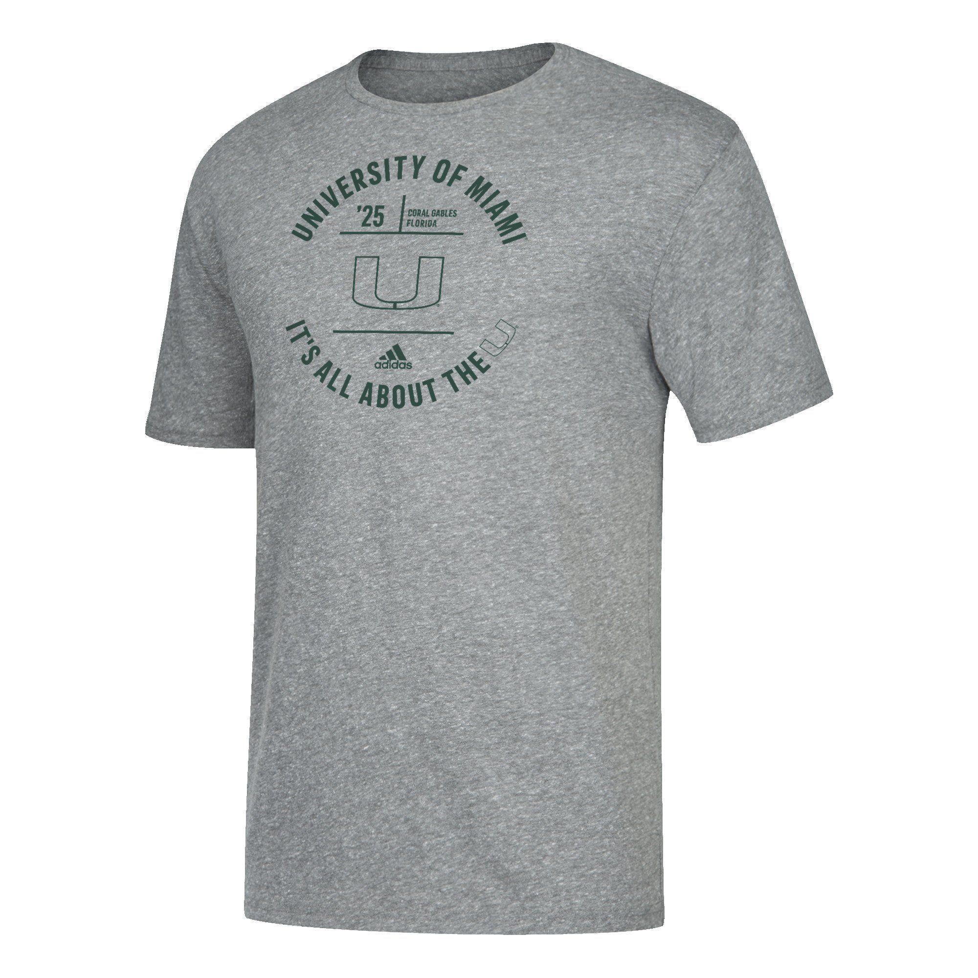 d2f9b62b Miami Heat adidas Cut The Net Go-To T-Shirt | CanesWear | Miami Heat ...