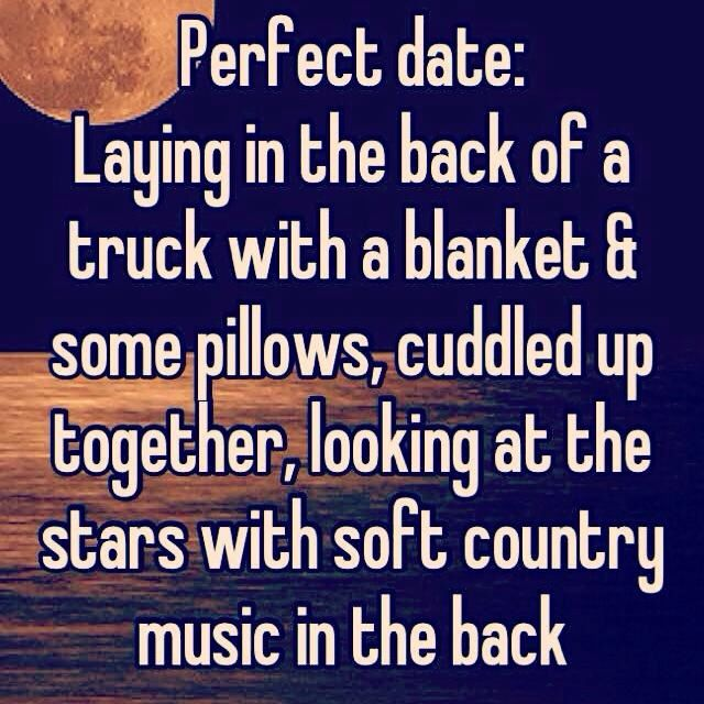 This sounds like perfection!  #perfect date #marriage
