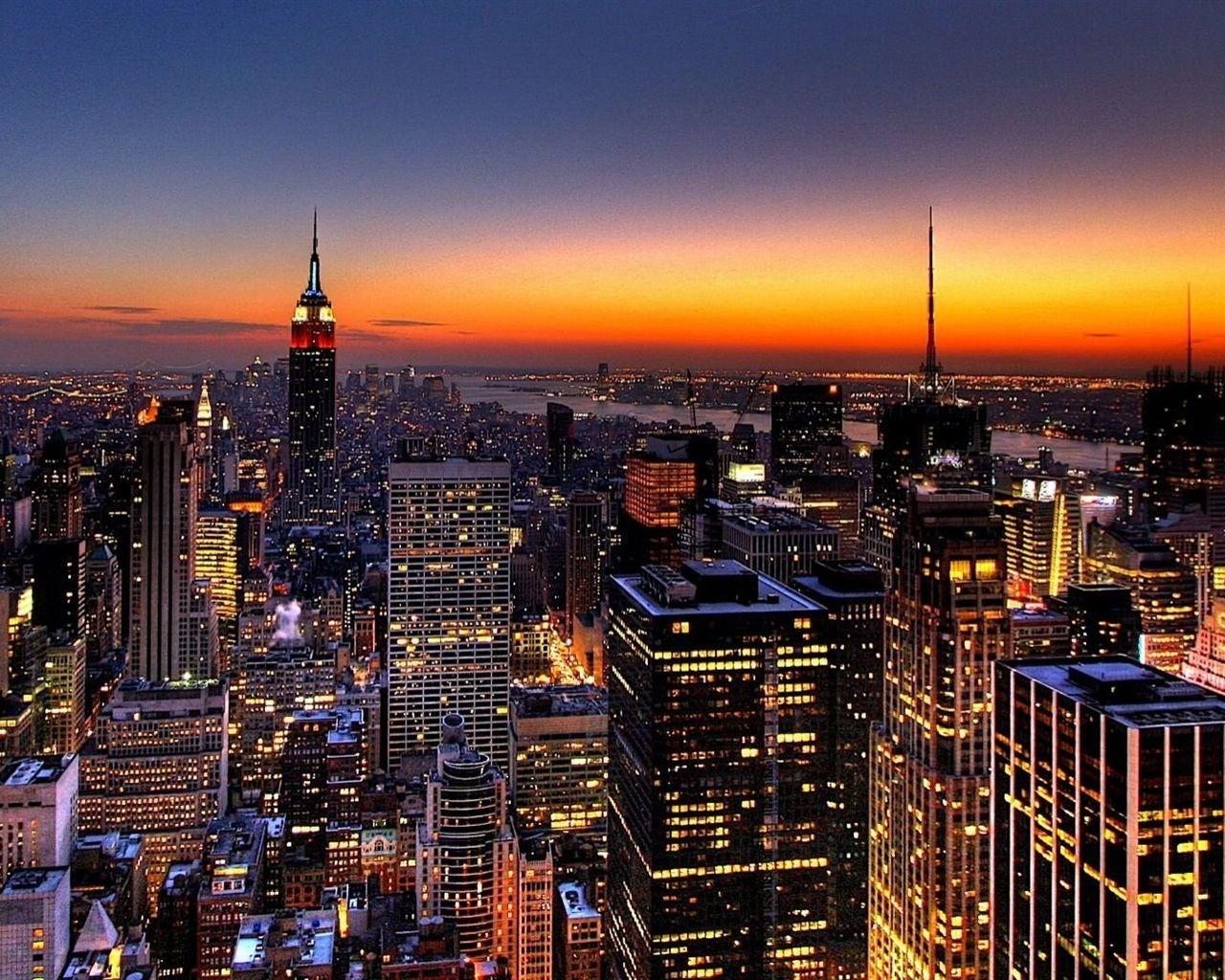 Nyc Skyline Photos Skyline Von New York Hintergrundbilder 1280x1024 Hintergrundbilder New York Wallpaper New York Skyline Skyline