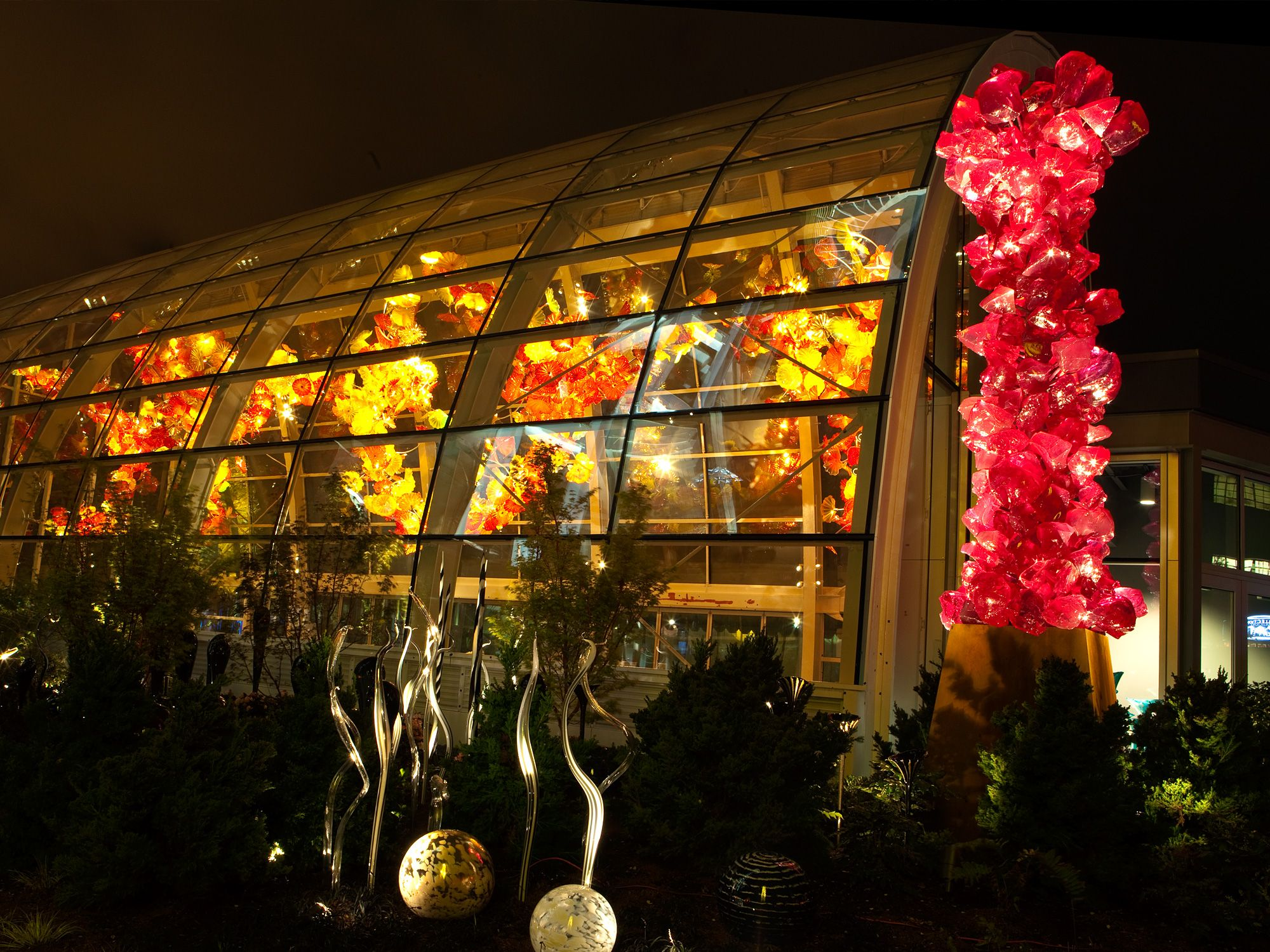 Chihuly Garden Glass In Seattle Click Through For Some Gorgeous Vistas And Works Glass