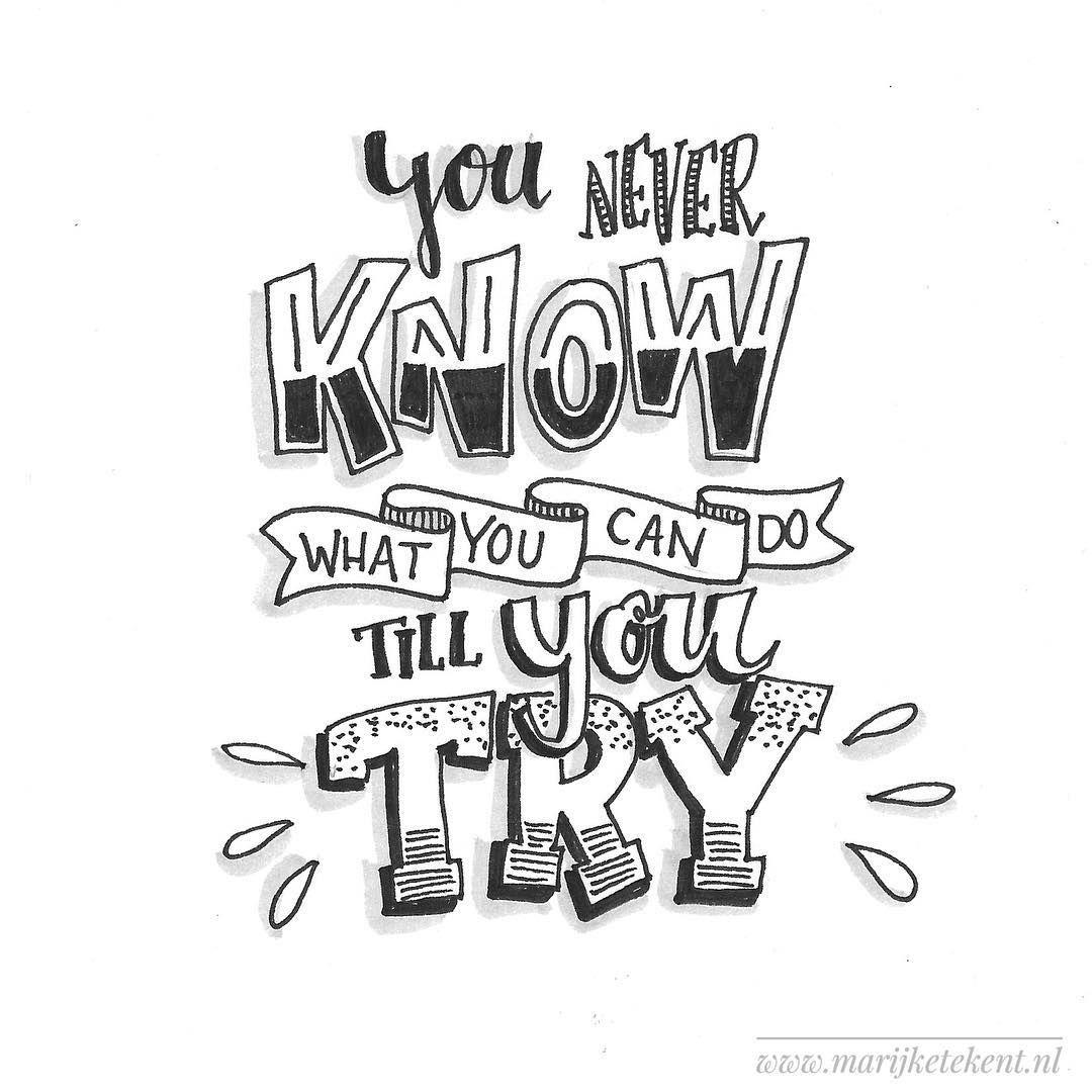 420 vind-ik-leuks, 4 reacties - Marijke Vanhommerig (@marijketekent) op Instagram: 'Dag 6  dutchlettering van april 2018. . . . . . . . . . .  typography  calligraphy…'