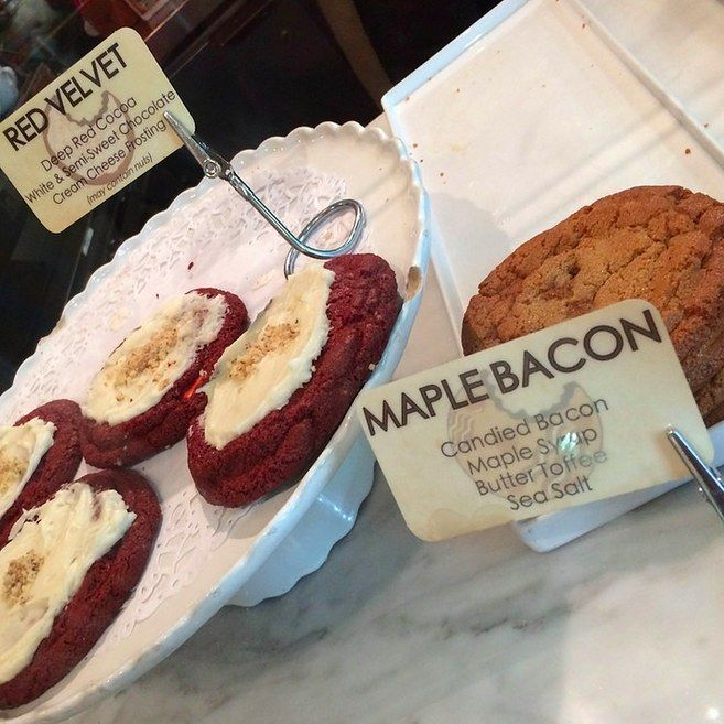 The maple bacon cookies at Schmackary's.   21 Delicious NYC Foods That Won't Break The Bank