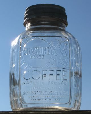 mo. jars | ... Sunshine Coffee Jar Springfield Mo MAJORS!