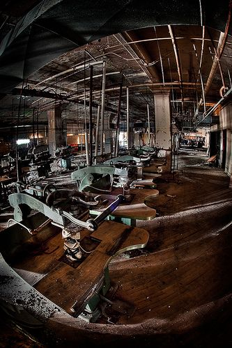 Abandoned clothing factory in MD by Dr Kim Veis [abandoned]