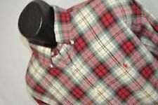 5121 Mens Polo Ralph Lauren Blake Long Sleeve Plaid Dress Shirt Size XL