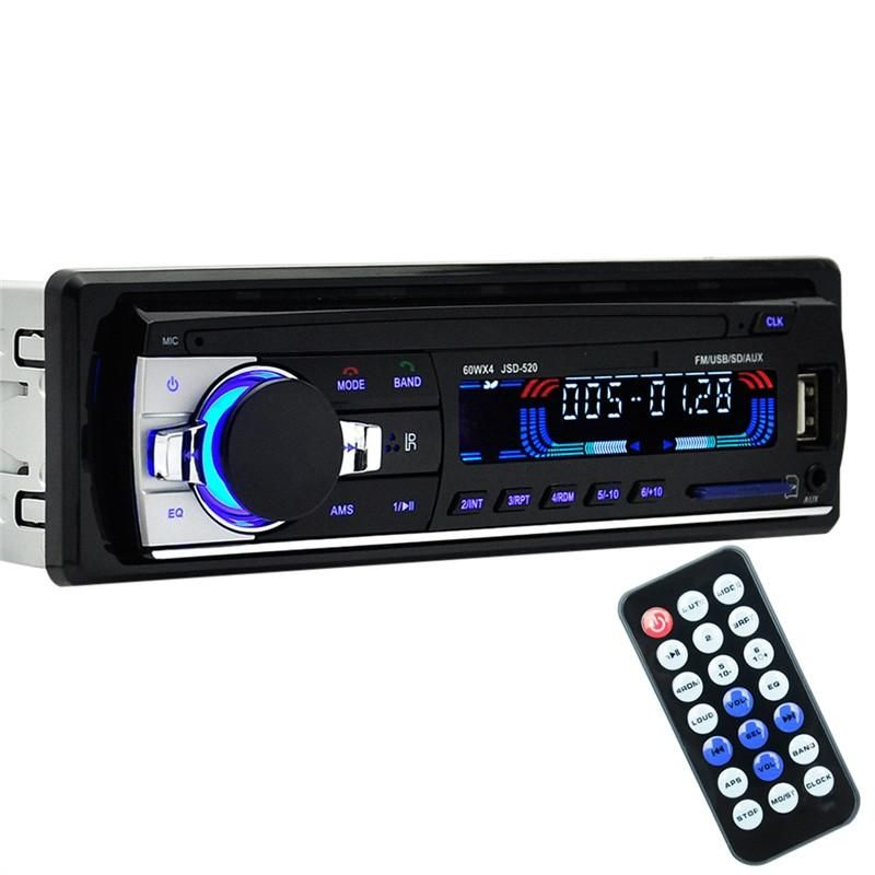 Car Audio Stereo In Dash Bluetooth Fm Receiver Mp3 Player Usb