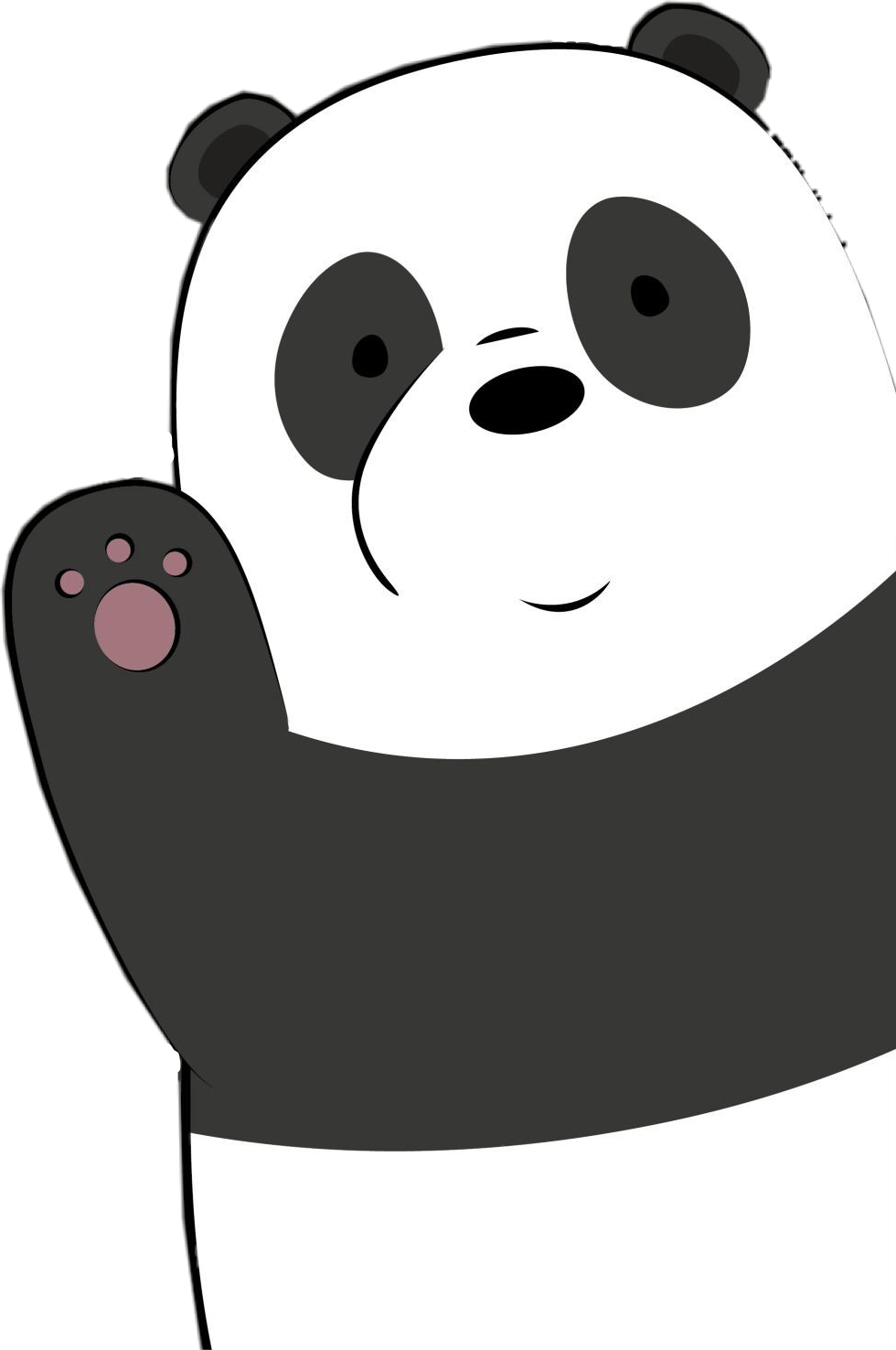 View Full Size Panda Clipart We Bare Bears We Bare Bears Panda Png Transparent Png And Download Transparent Clipart For Bare Bears We Bare Bears Panda Bear