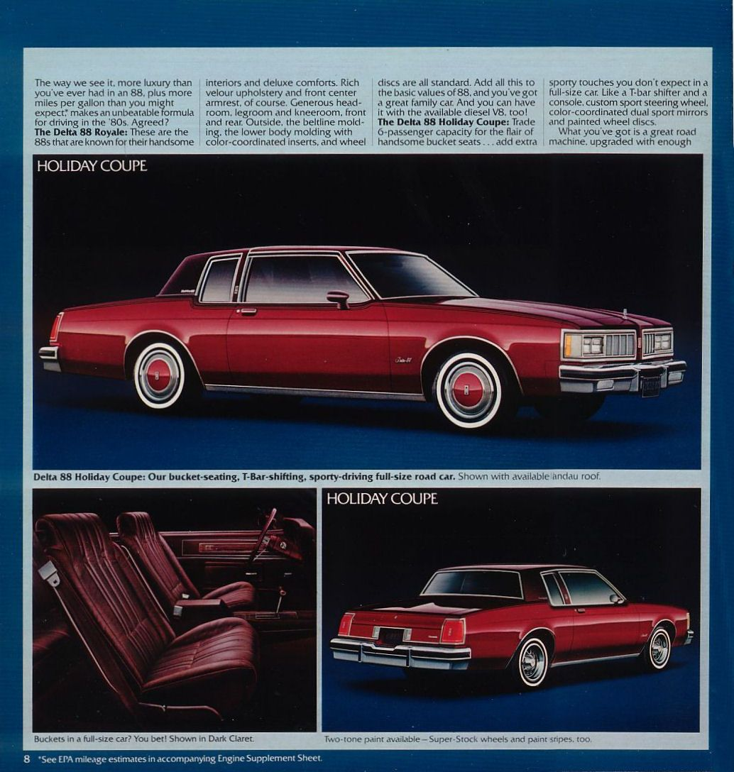 1980 Oldsmobile Delta 88 Royale Holiday Coupe | Oldsmobile ...1980 Oldsmobile Delta 88 Royale Brougham