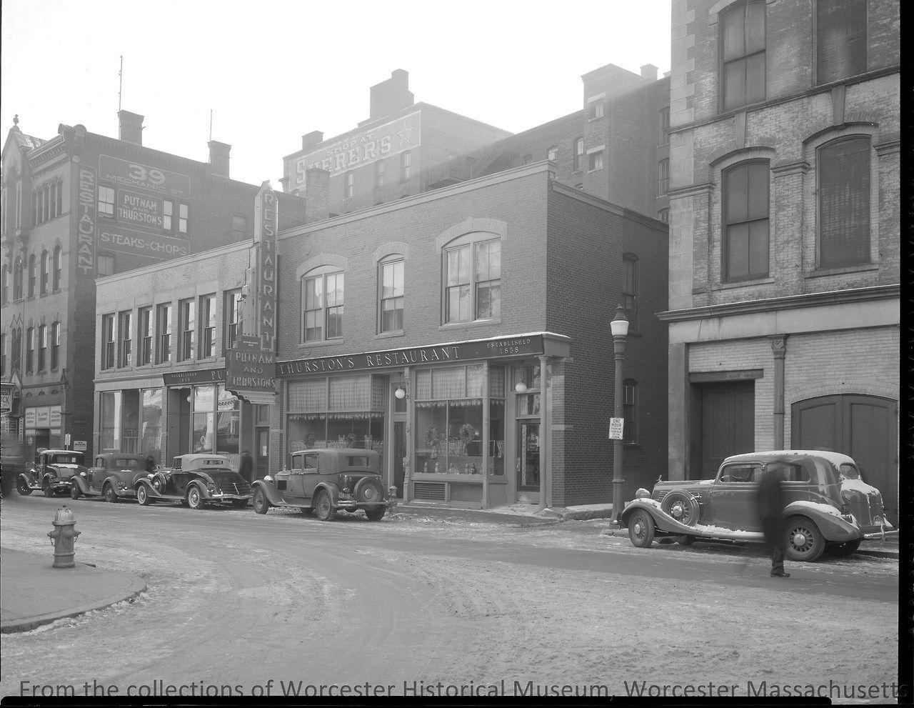 Putnam Thurstons Restaurant at 39 Mechanics Street, c ...
