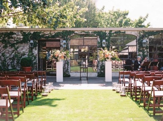 Tiny Boxwoods Greenway Upper Kirby Houston Texas United States Venue Report Houston Garden Wedding Ceremony Setup Wedding
