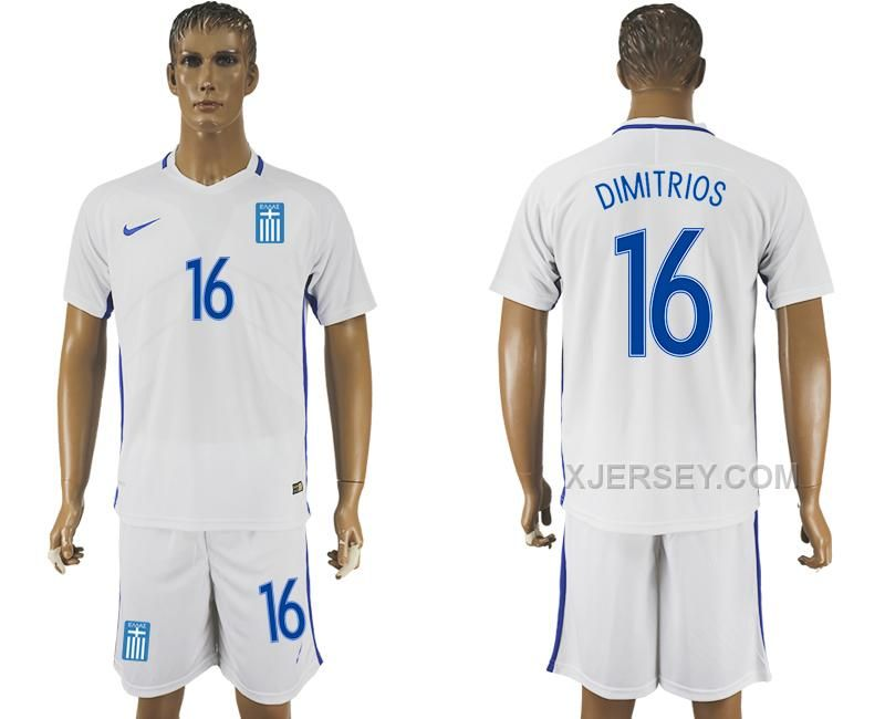 http://www.xjersey.com/201617-greece-16-dimitrios-home-soccer-jersey.html Only$35.00 #2016-17 GREECE 16 DIMITRIOS HOME SOCCER JERSEY #Free #Shipping!