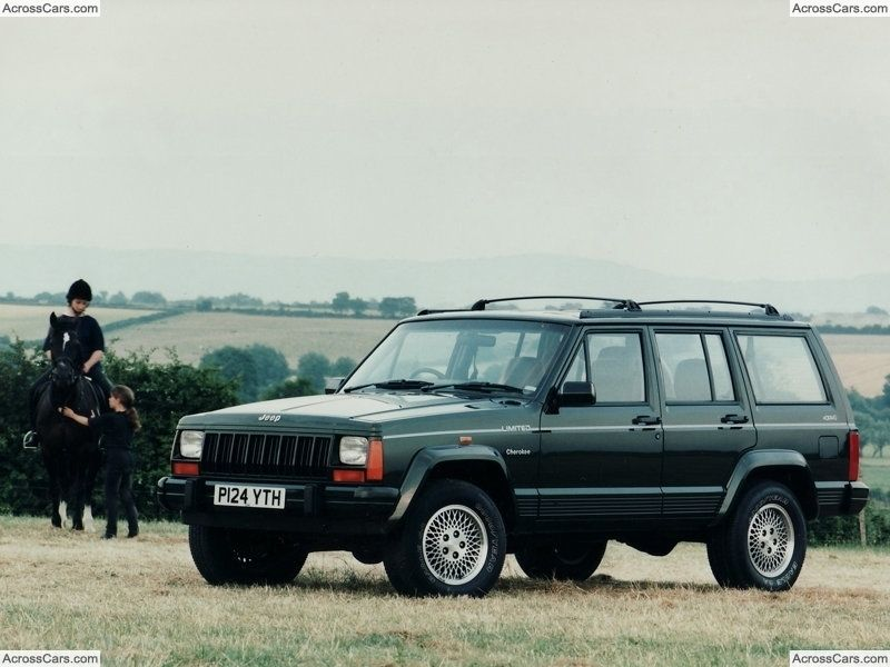 Jeep Cherokee Uk 1996