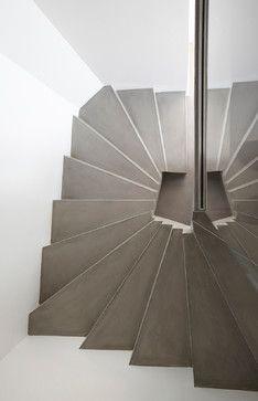 Hôtel Particulier avec Jardin de 800 m2 - Escaliers contemporain-escalier