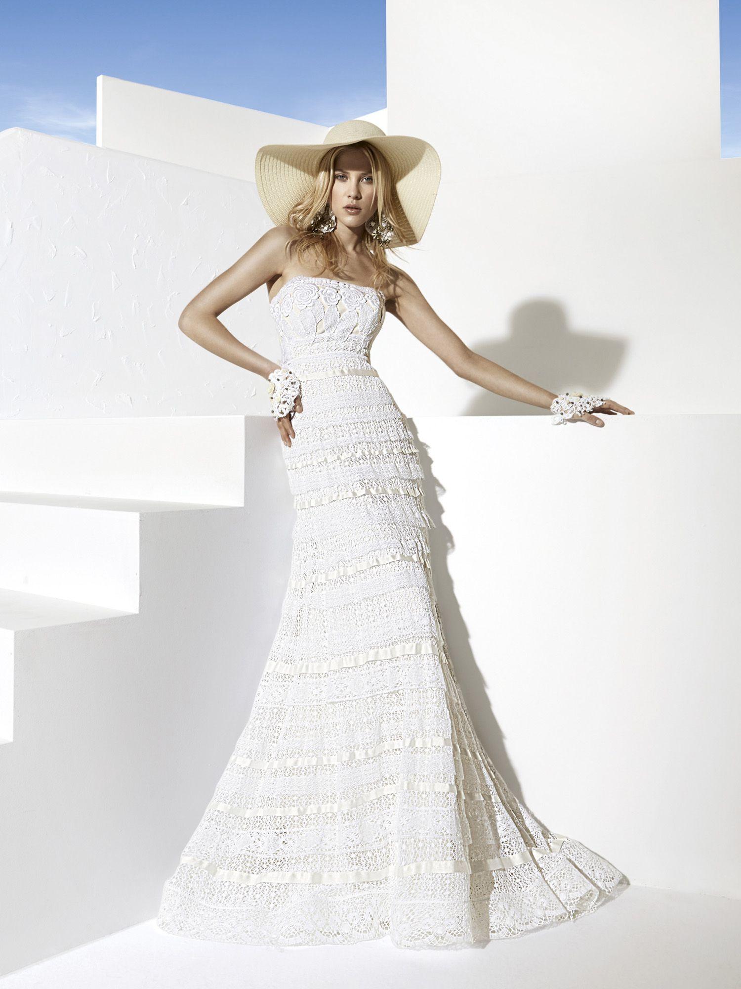 Yolancris boho chic wedding dresses bodas pinterest boho