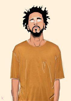 J. Cole | Art by Samona Lena info@scaredofmonsters.com http://www ...