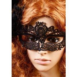 Masque Loup Burlesque Cabaret Victorien Dentelle