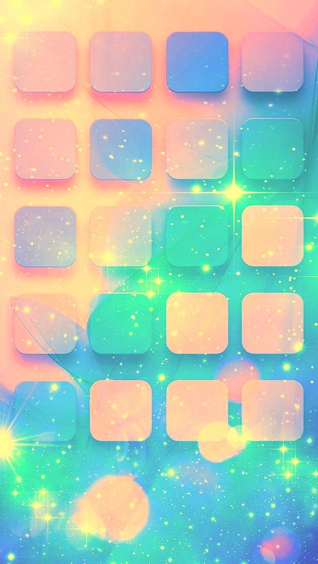 Sparkling Shelves wallpaper mobile9 iPhone 7