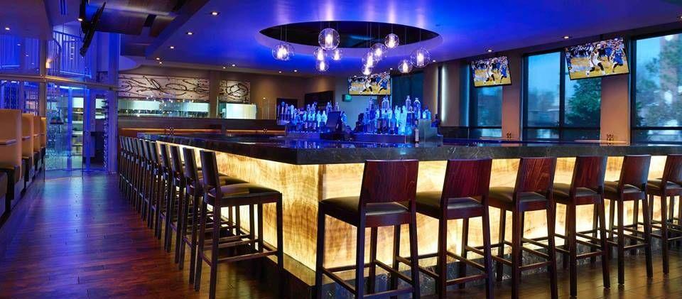 lighting in restaurants. Nu World LED Light Panel - Backlit Onyx- KDs Restaurant Bar Face Lighting In Restaurants