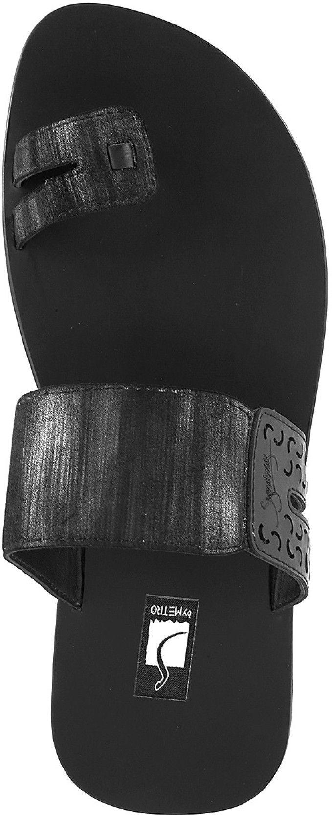Black sandals online - Metro Men Black Sandals Buy 11 Black Color Metro Men Black Sandals Online At