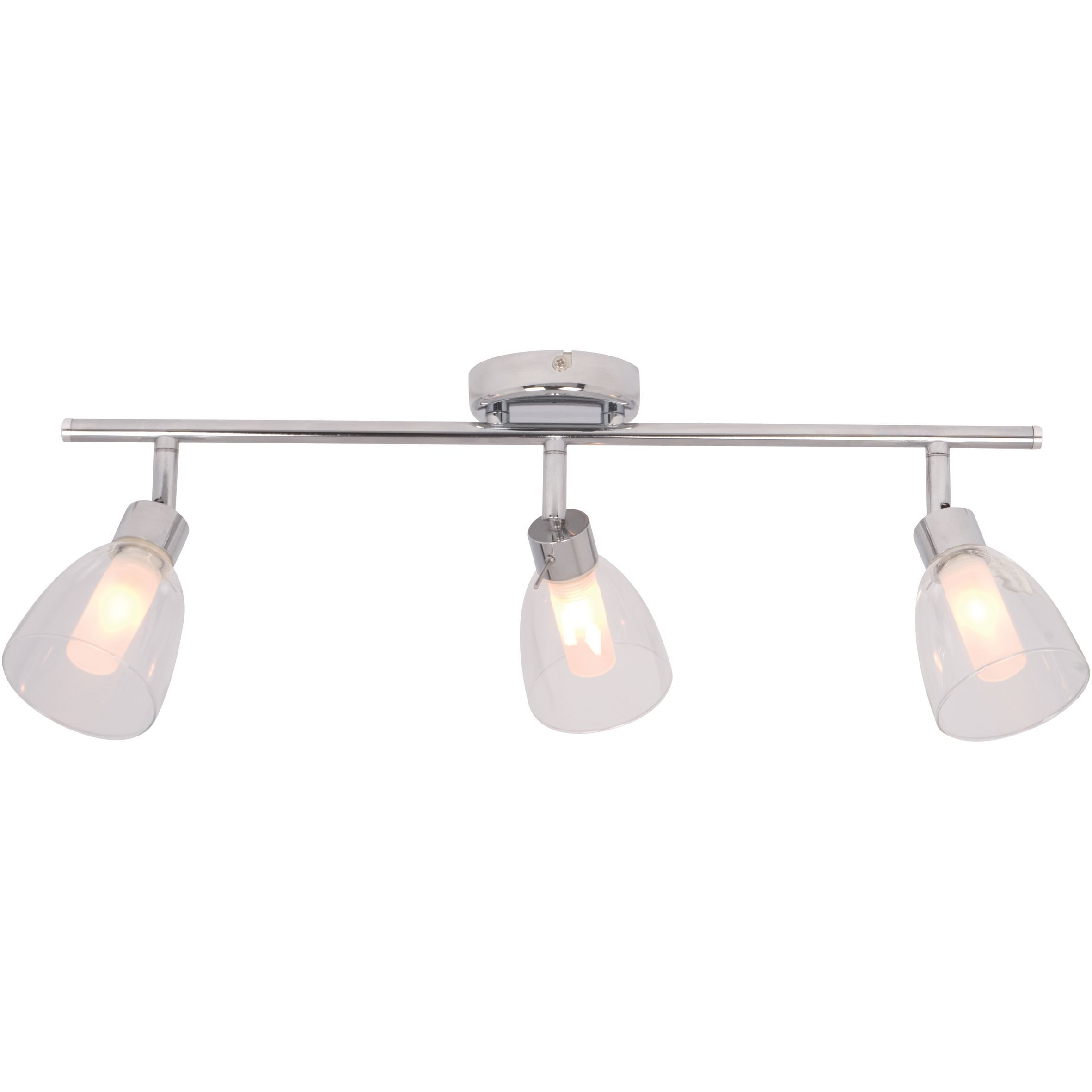 Geni Chrome Effect 3 Lamp Bathroom Spotlight | Bathroom ...