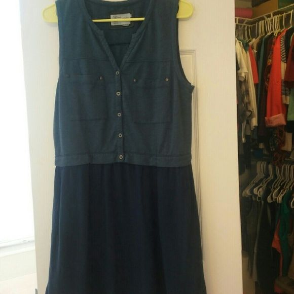 Anthro day dress So comfy and pretty! Has pockets too! Saturday Sunday Dresses