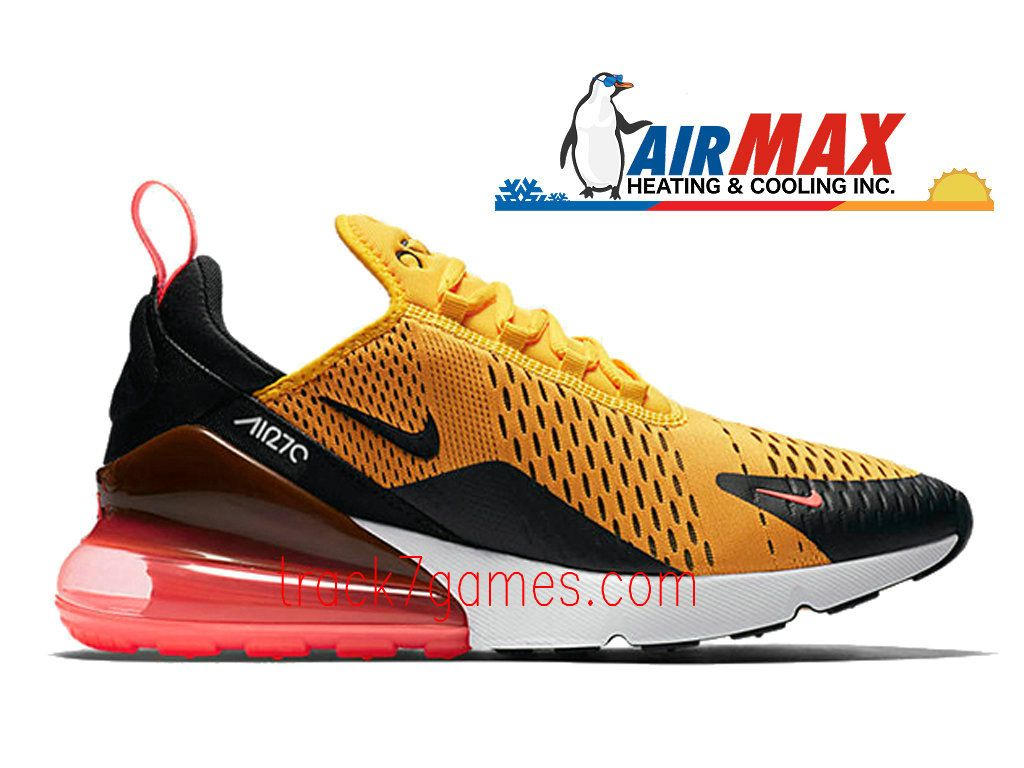 Nike Air Max 270 Orange Red AH8050 004 Chaussures Nike