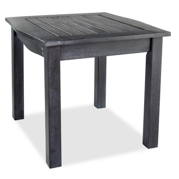 Yorkshire Outdoor Side Table | Outdoor wood table, Outdoor ...