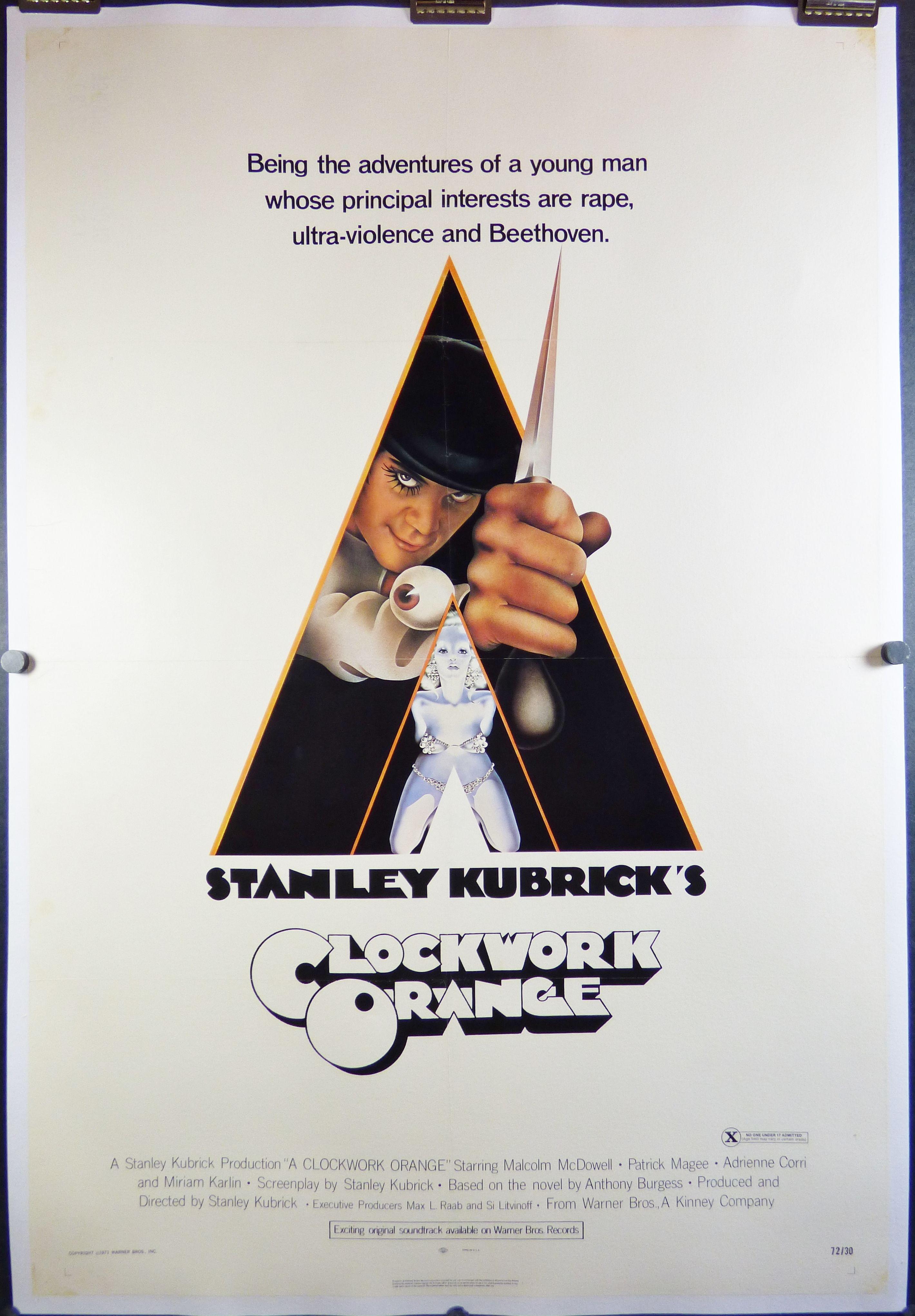original movie posters   ... , Stanley Kubrick, X Rated Ratings Box ...